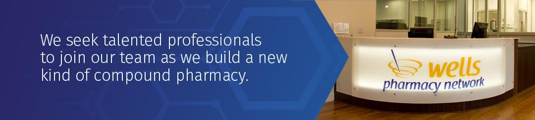 Careers at Wells Pharmacy header