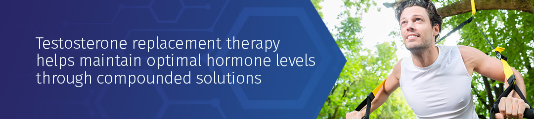 Testosterone replacement therapy helps maintain optimal hormone levels through compounded solutions tailored to men's specific needs.