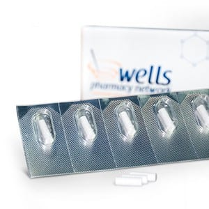 Wells Pellets in Blister Pack